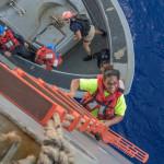 Tasha Fuiava hade aldrigt seglat innan hon gav sig iväg med Sea Nymph.