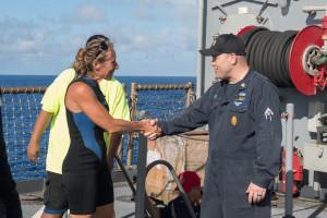 Jennifer Appel var Sea Nymphs skeppare och har bott på Hawaii i tio år.