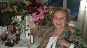 Sonja firar sin födelsedag, 2012.