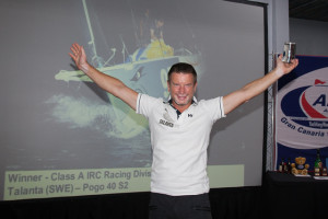 Nästan alltid snabbast: Mikael Ryking! Bild: WCC