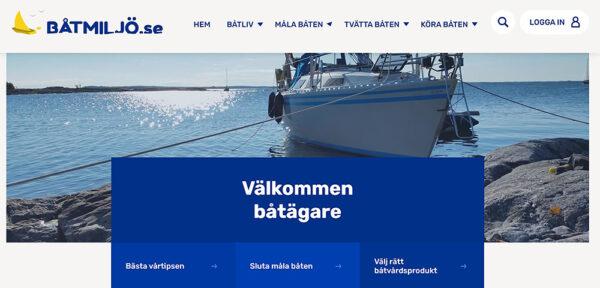 Båtmiljö.se – för mer hållbart båtliv
