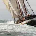 Britta seglar