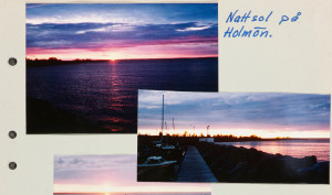 Nattsol på Holmön