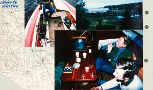 Björn Borg på teven och en whiskey i en Vega.