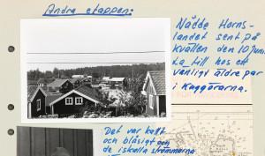 Hus vid Kuggöarna i Hälsingland.