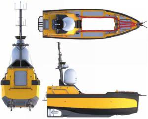C Worker 7 är ett av engelska varvet ASV:s obemannade och autonoma fartyg.