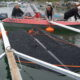 Nynäshamns båtklubb lägger ut skrovdukar