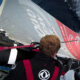 Mast Check for Kevin Escoffier. Ice gate just below