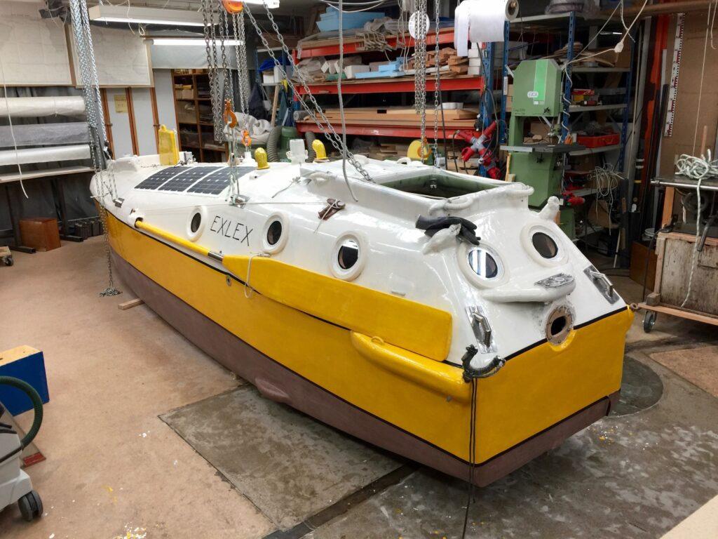 Sven Yrvinds båt, Exlex