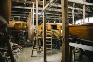 Träbåtar