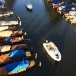 Heleneborgs båtklubb på Långholmen är en av båtklubbarna i Stockholm som idag inte betalar moms på markarrendet.