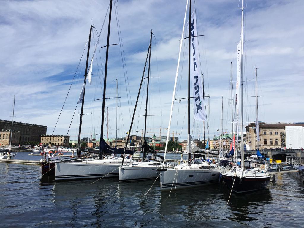 Gotland runt ska blir seglingens Vasalopp är KSSS mål. I årets upplaga samlas cirka 250 båtar vid Skeppsholmen.
