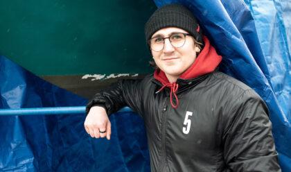 Isak Olsson 17 år foto Henrik Rådmark