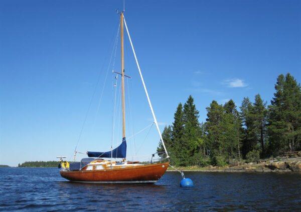 Sjöhistoriska k-märker fritidsbåtar
