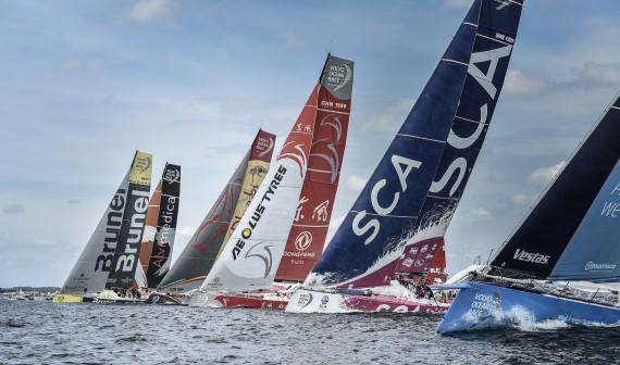 Volvo Ocean Race 2014-15 - Lorient Stopover