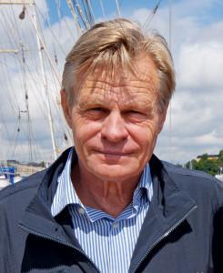 Mikael Krafft växte upp nära Plyms Neglingevarvet i Saltsjöbaden, Stockholm.  BILD: Micke Westin