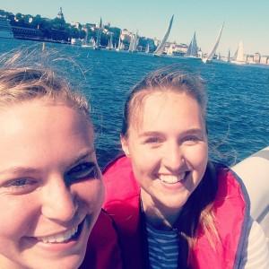 På Kryss och PX!:s reportrar Maya Sundsten och Saga Ahltin Sandberg direktrapporterar från starten av ÅF Offshore Race.