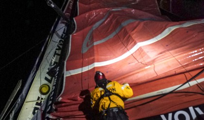 February, 2015. Leg 5 onboard Dongfeng Race Team.