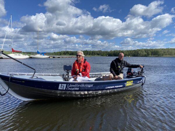 Missing People får specialutrustad motorbåt