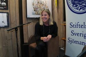 Linda Sundberg, redaktör för Sjöfartens arbetsmiljönämnds tidning är Stiftelsen Sveriges Sjömanshus litteraturpristagare 2017.
