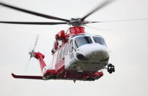Under 2016 flög Sjöfartsverkets räddningshelikoptrar sammanlagt 361 timmar flygning till följd av larm. Bild: Sjöfartsverket