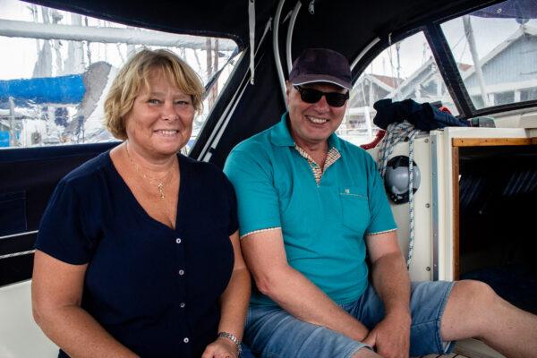 Eva och Bo Fredriksson.