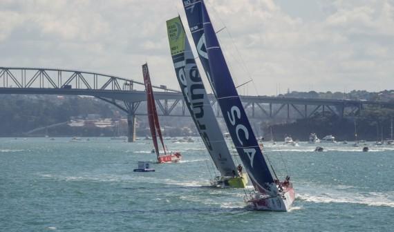 Volvo Ocean Race 2014-15 - Auckland  - New Zealand Herald In-Port Race