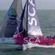 October 4 2013 - Team SCA sailing trials in the English Channel