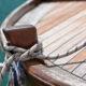 100-årig träbåt fick eldrift