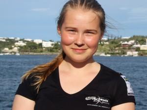 Amanda Ljunggren bor i Marstrand och seglar med Marstrands segelsällskap.