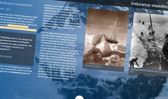 Antarktis historia.