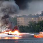 Båtbrand