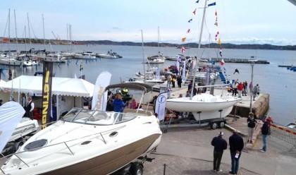Förra årets Båt och hav i Lysekil bjöd på sol, båtar och en start på säsongen för flytande båtmässor.