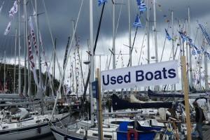 Nu visas också begagnade båtar på Öppet Varv på Oryst