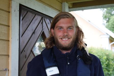 Slussvakten Adam Eriksson