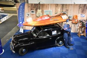 Racergaloschen Cyrakusa vann titeln Sveriges snabbaste båt 1952.