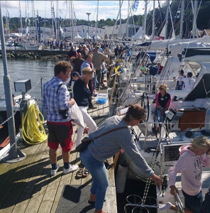 Andrahandsbåtarna på Öppet varv var också populära.