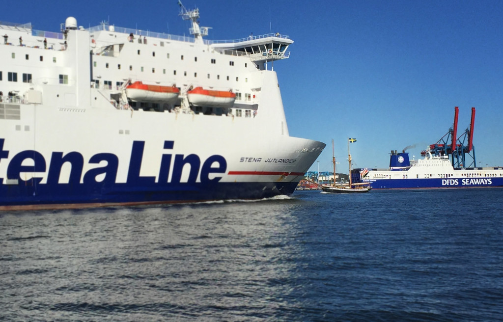 Göteborgs hamn är Sveriges mest trafikerade.