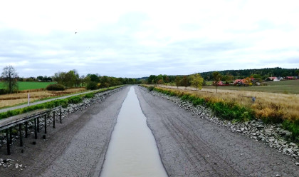 Göta kanal torrläggs