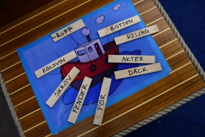 Hugos båtskola för de minsta lär ut med lek.