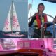 Jessica Watson och hennes rosa S & S