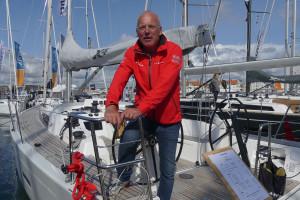 Johan Delin, vd på X-Yachts Sweden, var nöjd med resultatet från mässan. Bild: Linda Hammarberg