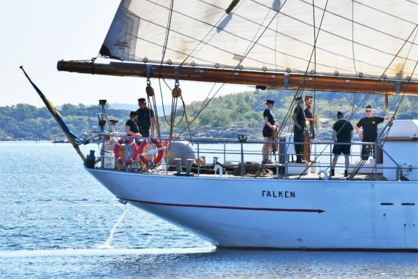 481a03127a09 HMS Falken på Sverigeturné: Här ses hon i sommar! | På Kryss