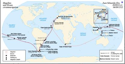 Magellans och Elcanos expedition