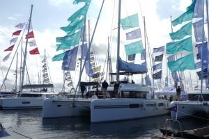 Lagoon 52 är störst bland segelbåtarna