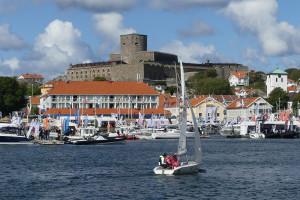 Marstrands segelsällskap bjöd på svängar med klubbens C55:or. Bild: Linda Hammarberg