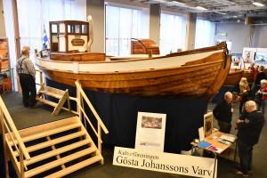 Kulturföreningen Gösta Johanssons Varv visar upp nyrenoverade Polstjernan som fyller 100 år nästa år.