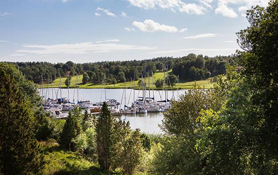 Hållbarhetscertifierade gästhamnar på Åland