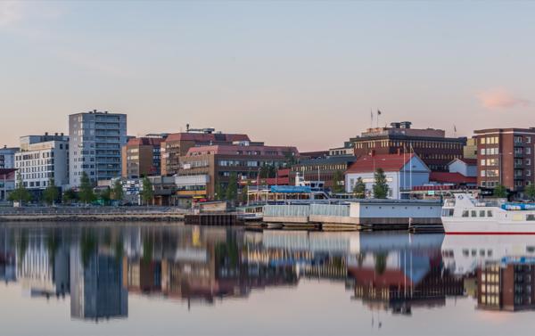 Ny vågbrytare i Norra hamn