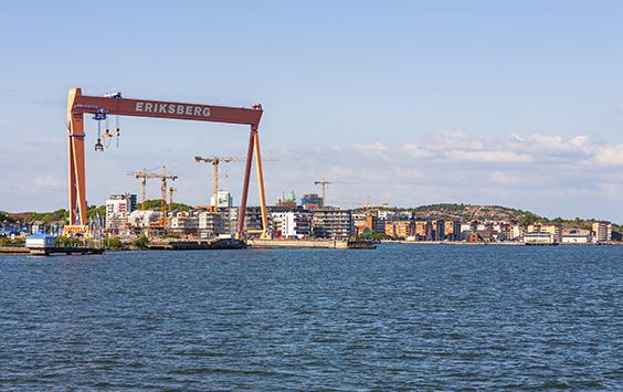 Premiär för flytande båtmässa på Eriksberg